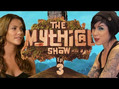 The Mythical Show Ep 3 (YO MAMA & Wipeout Host Jill Wagner)