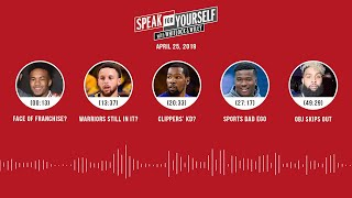 SPEAK FOR YOURSELF Audio Podcast (4.25.19) with Marcellus Wiley, Jason Whitlock | SPEAK FOR YOURSELF