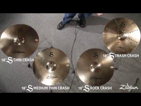 Zildjian S Family Cymbals - Crashes