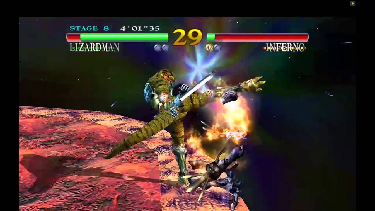 Soulcalibur Android Review on Nvidia Shield Tablet