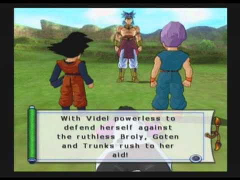 Dragon Ball Z: Budokai Tenkaichi 2 Walkthrough Part 56 (Broly: The Second Coming (1/3))