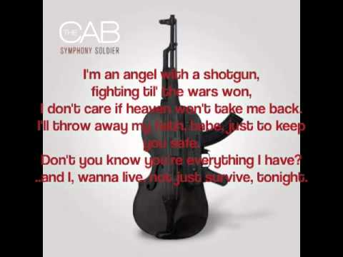 Angel With A Shotgun - The Cab (Lyric Video)