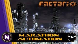 Factorio - Marathon Automation - E92 - Aluminium; from Ore to Bars