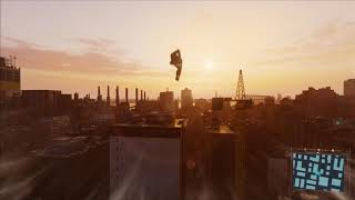 Marvel's Spider-Man PS4 Pro - Free Roam - Raimi Suit + Main Title by Danny Elfman