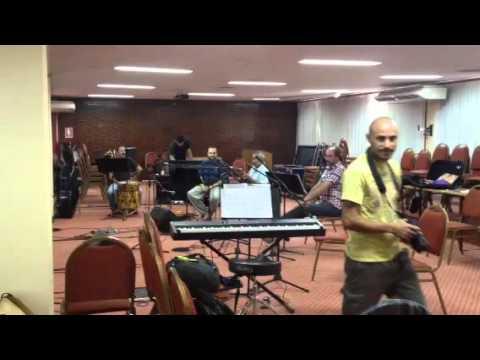 Así ensayan Jaime Torres y la Orquesta Filarmónica para la fiesta de la Cosecha
