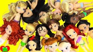 Disney Princesses Dress Up