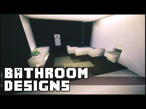 Minecraft bathroom design how to save money and do it for Bathroom ideas minecraft
