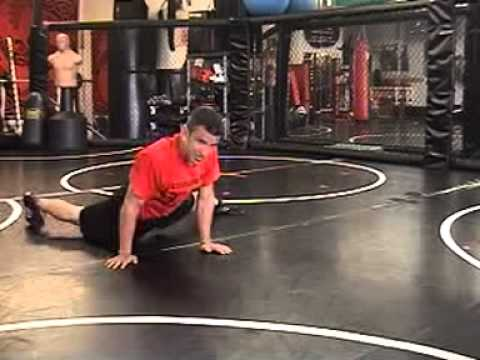 Seraiah Wrestling: Sprawl To Shot Drill Image 1