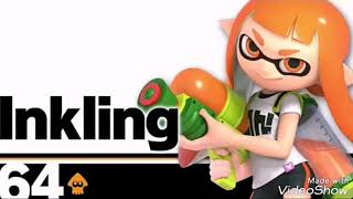 Inkling girl biggest star channel theme