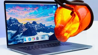 LAVA vs MACBOOK PRO!