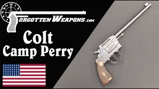 Colt's Camp Perry Model Target Single Shot