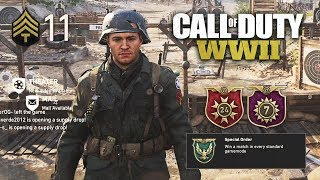 Call of Duty WW2 Multiplayer - EPIC WEAPONS & LEVELING UP!! (COD WW2 Multiplayer Gameplay)