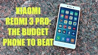 Xiaomi Redmi 3 Pro  - The Budget Smartphone To Beat (2016)