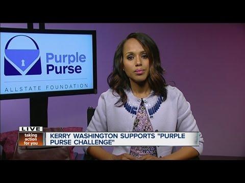 Kerry Washington talk about Purple Purse