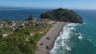 Humboldt County Beaches - Aerial Video