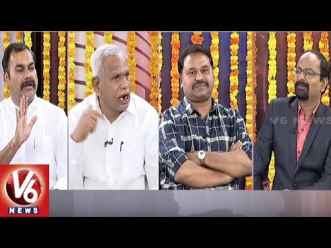 Special Debate Over Unanimously Elected Sarpanches | Good Morning Telangana | V6 News