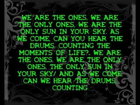 Kisses for Kings feat. Johnny 3 Tears - The Only Ones (Lyrics)