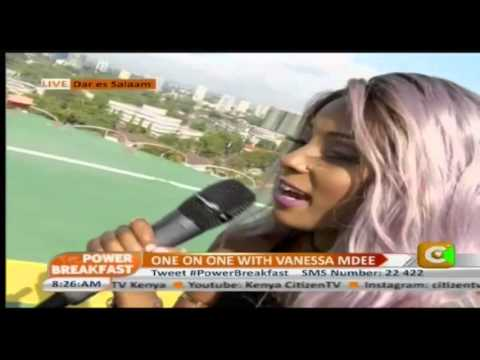 Vanessa Mdee On Power Breakfast Tanzania Edition