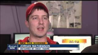 Kootra Interview on ABC 7News Denver after being Swatted Pt.2
