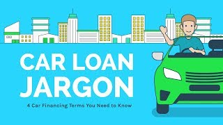 Common Car Financing Terms You Should Know