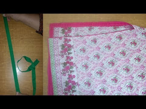 Attach Piping on Slits(Chaak)of kameez (kurti)|Magzi Lagane Ka Tarika|Adding Piping To Charks| Part3