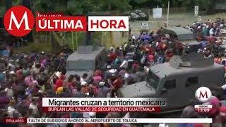 Download Lagu ÚLTIMA HORA: Migrantes hondureños cruzan la frontera a México por la fuerza Gratis STAFABAND