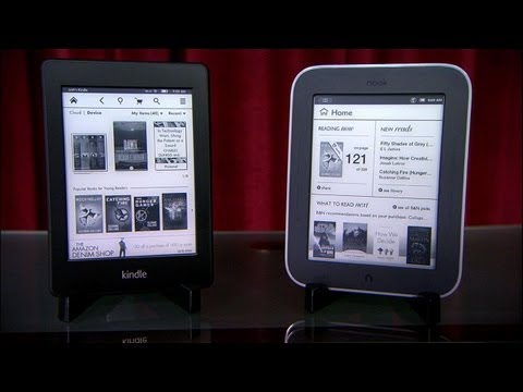 Prizefight - Kindle Paperwhite vs. Nook Simple Touch with GlowLight