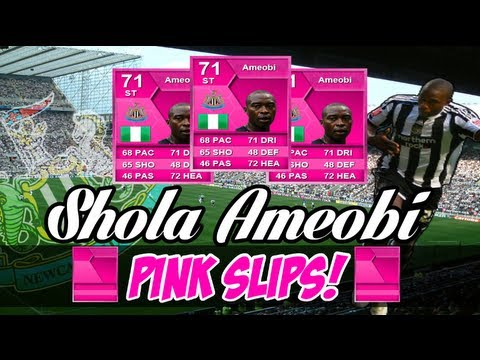 FIFA 13 | [Parody] Shola Ameobi Pink Slips!