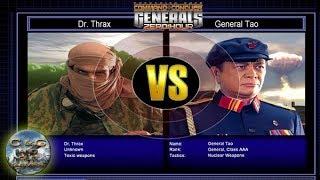 C&C Generals Zero Hour Challenge Toxin 05: Dr. Thrax x Gen. Tao [HARD]