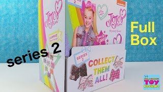 Jojo Siwa Mystery Bows Series 2 Full Box Opening Blind Bag Review | PSToyReviews