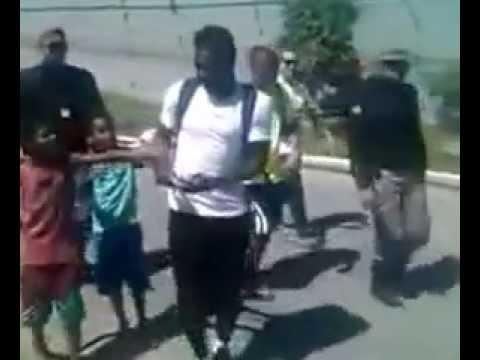 Sulley Muntari distribute Money In brazil 2014