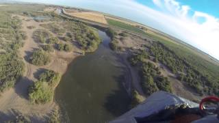 Colorado & Gila Rivers confluence aerial video 22 Apr 2015 & 16 May 2015