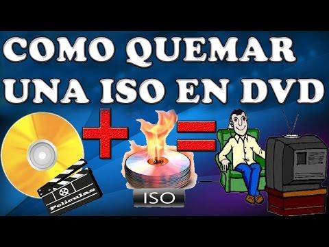 como grabar una imagen ISO en un DVD (ULTRAISO)