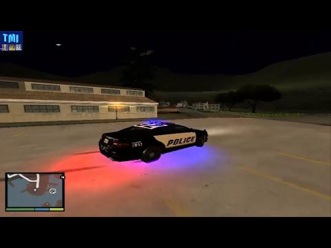 Mod policia en radar como en GTA V, Patrullas de GTA V, Mod arresto de GTA V para GTA San Andreas