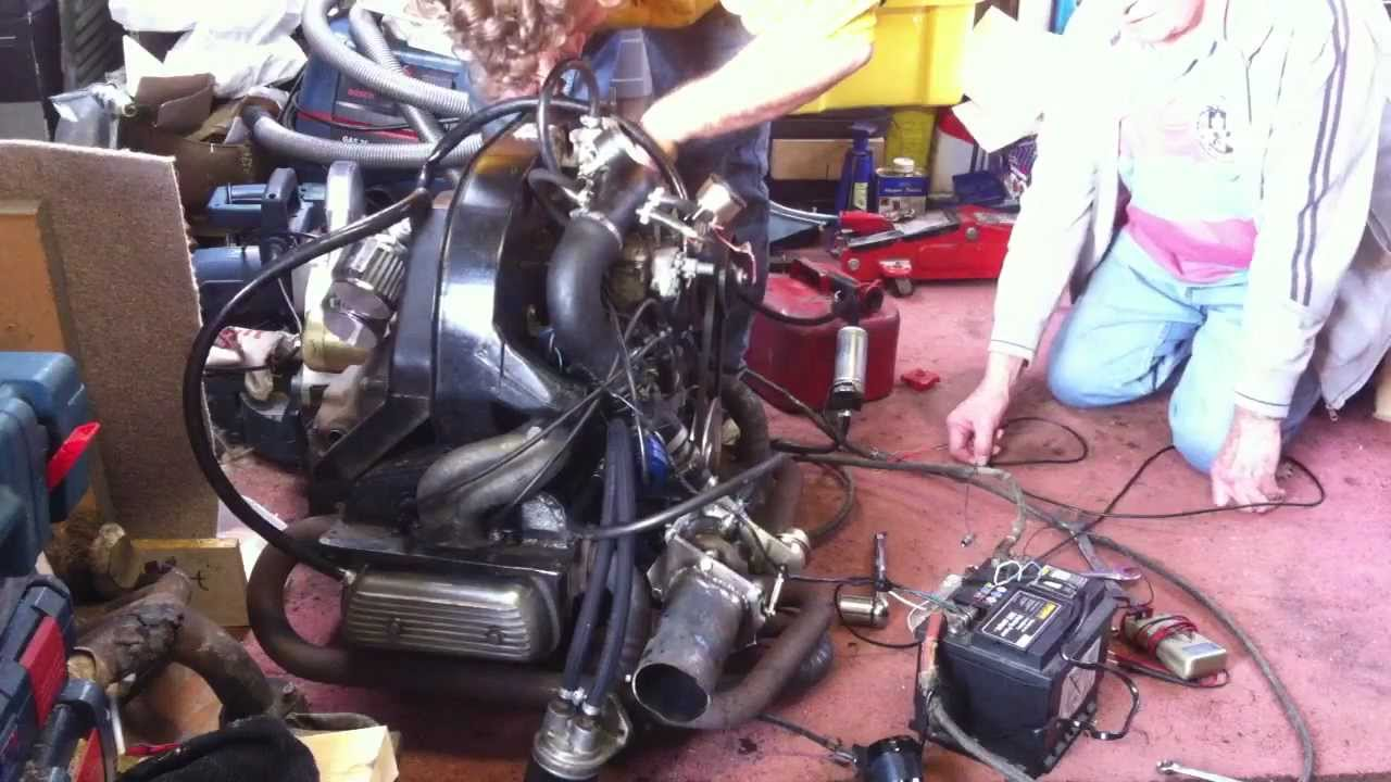 turbo vw beetle engine  renault  turbo carb gt youtube