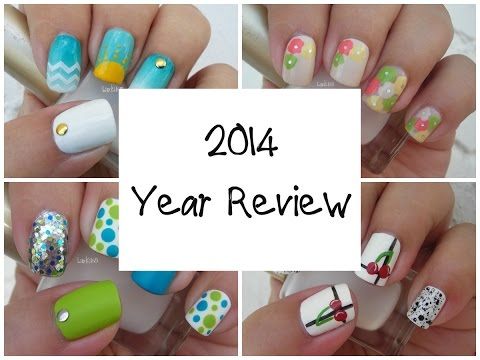 Nail Art - 2014 Review - Decoracion de uñas - Mis Favoritos 2014