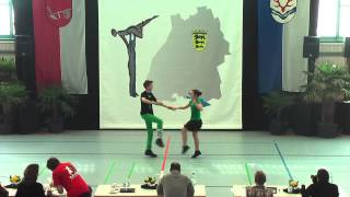 Anna-Elisa Stelzenmüller & Nico Gogg - Ländle Cup 2015