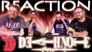"""Death Note 37 FINALE REACTION!! """"New World"""""""