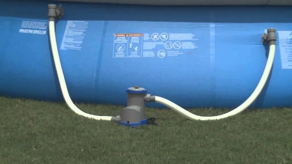 Montaggio accessori per la manutenzione delle piscine bestway intex san marco e gre san - Motore per piscina ...