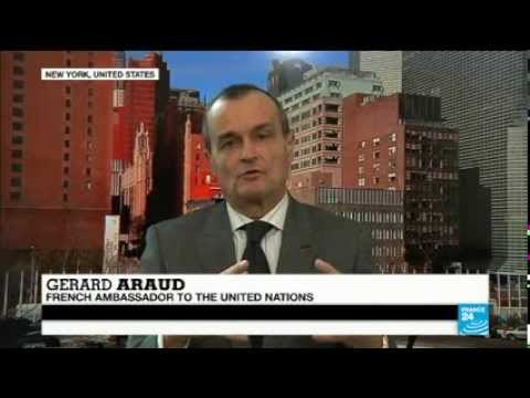 CAR: Gérard Araud, French ambassador to UN, speaks to FRANCE 24