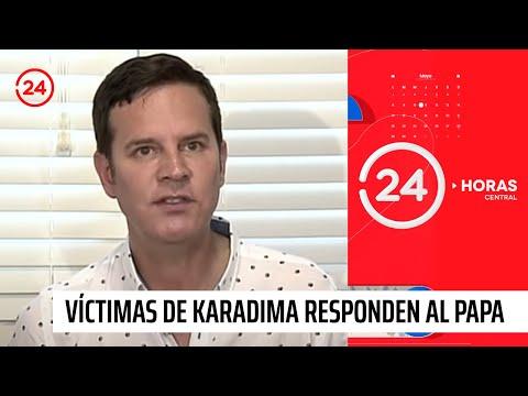 Víctimas de Karadima responden al Papa por obispo Juan Barros