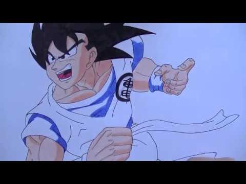 Dibujando a: Goku