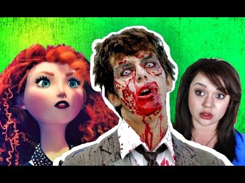 MERIDA THE ZOMBIE KILLER! (Kat's Kreation 42)