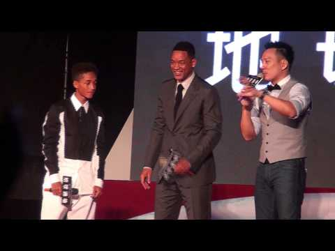 Will Smith &amp; Jaden Smith in Taiwan Taipei (20130503)
