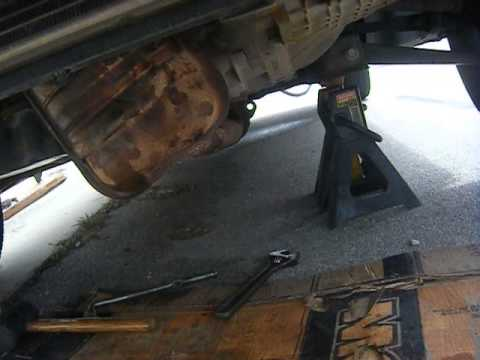 2001 Ford Focus Zx3 Catalytic Converter Disassembled