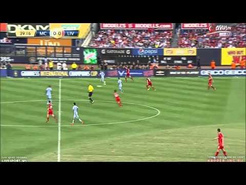 Jordan Henderson vs Manchester City - 31/07/14