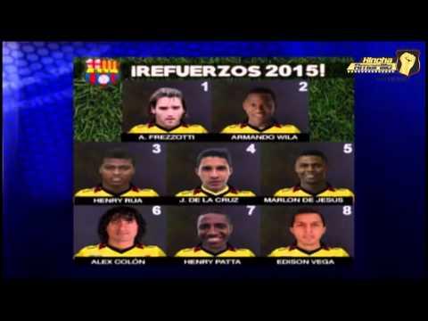 Refuerzos 2015 | Barcelona Sporting Club