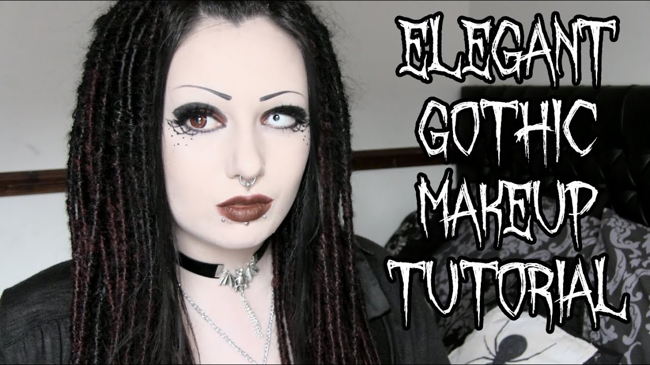 Elegant Goth Makeup Tutorial