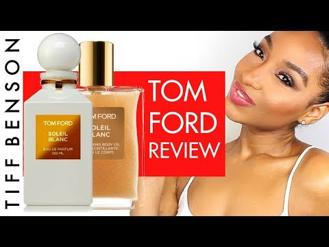 Soleil Blanc by Tom Ford Perfume & Shimmering Body Oil Review  | TOM FORD