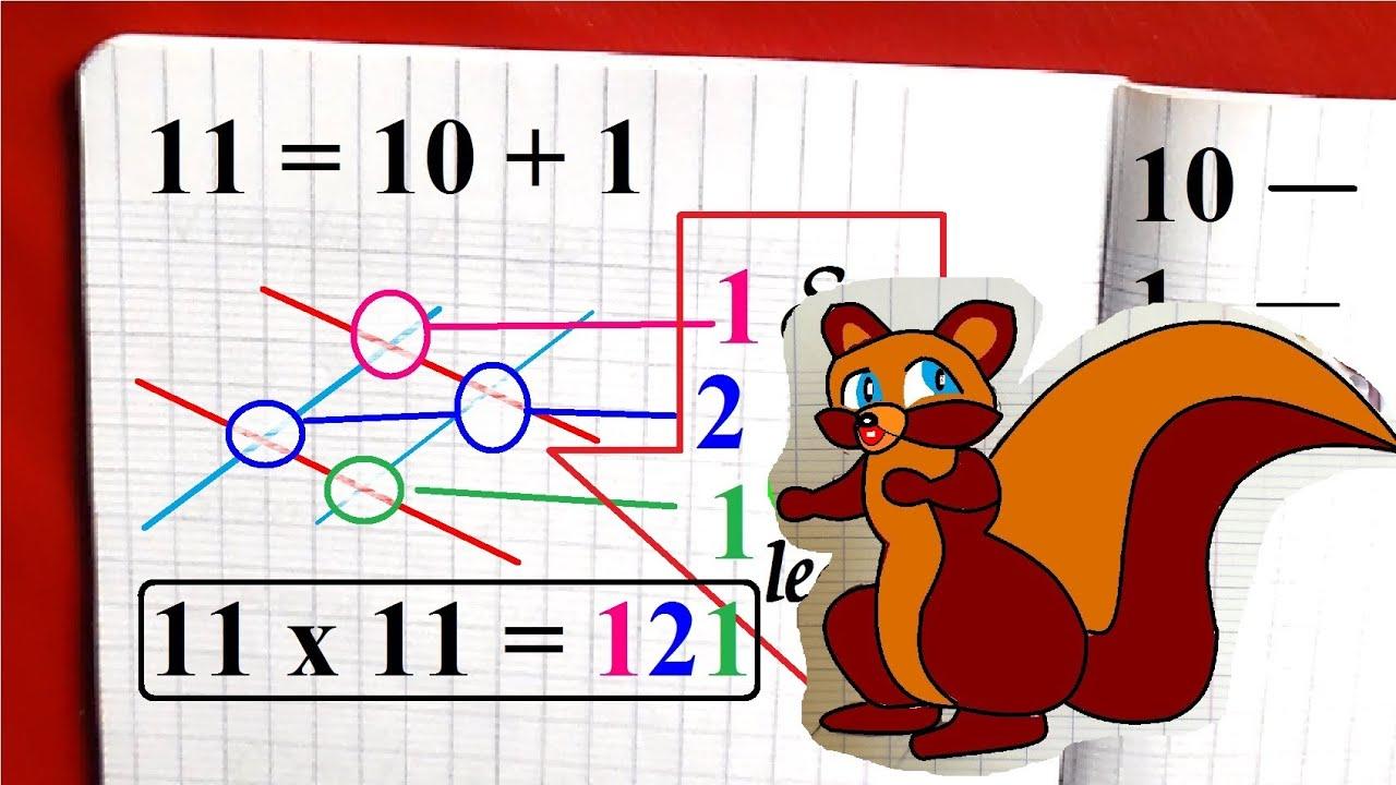 Table de multiplication par 11 m thode mentale par - Methode table de multiplication ...
